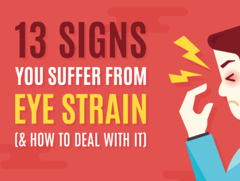 13 Signs You Suffer From Eye Strain